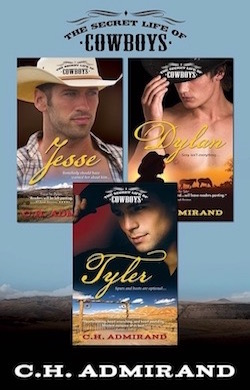 The Secret Life of Cowboys Boxed Set by C.H. Admirand